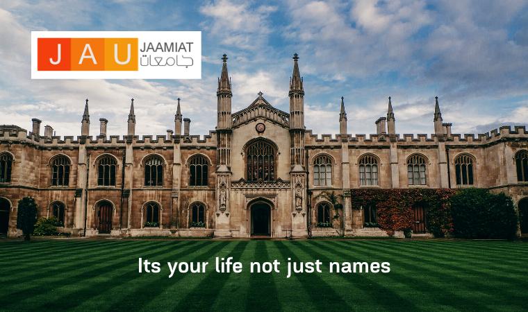 JAAMIAT – جامعات